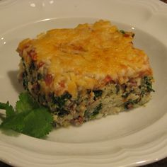 Beef And Spinach Casserole | Travis Martin TV - Weight Loss and Wellness