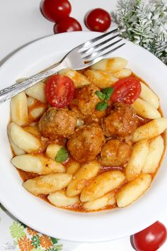 Mini pulpeciki w sosie z kluseczkami Meat Recipes, Baby Food Recipes, Cooking Recipes, Healthy Recipes, The Sims4, Diet And Nutrition, Food And Drink, Healthy Eating, Yummy Food