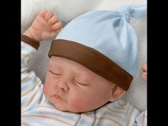 Lifelike Sleeping Boy Baby Doll by Linda Murray