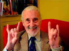 We are saddened by the news that legend Christopher Lee has passed into the west. It is the end of an epic era. Thank you for your contributions in the film adaptation of The Hobbit and Lord of the Rings. You will be missed. Christoper Lee, Heavy Metal Christmas, Into The West, Version Francaise, Cinema, Star Wars, Vincent Price, Earth News, Foto Art