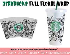 Custom Starbucks Cup, Starbucks Logo, Starbucks Tumbler, Vinyl Projects, Craft Projects, Cricut Craft Room, Cut Image, Arts And Crafts, Diy Crafts