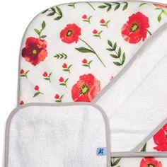 Little Unicorn Hooded Towel & Washcloth Set