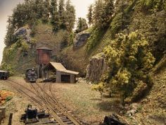"""Mt. Coffin & Columbia River - 23""""x41"""" n-scale layout   Model Railroad Hobbyist magazine   Having fun with model trains   Instant access to model railway resources without barriers"""