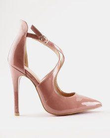 PLUM Loretta Heel Dusty Pink | Women
