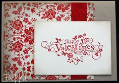 Stampin Up  You are Loved Valentines Card    http://feeling-crafty.blogspot.com/2012/02/you-are-loved-be-my-valentine-card.html
