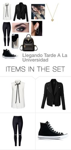 """Llegando Tarde A La Universidad"" by samalexandra on Polyvore featuring arte"