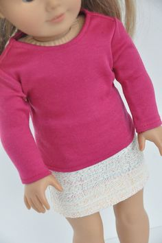American Girl Doll Clothes White Go with by CircleCSewing on Etsy, $15.00