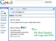 professional signature email