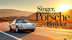 Get in the driver's seat with Porsche 911 renegade Rob Dickinson