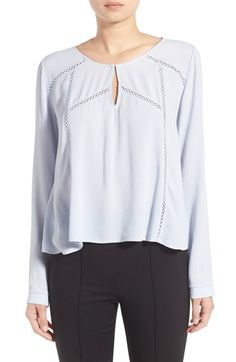ASTR Long Sleeve Blouse available at #Nordstrom