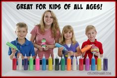 Sand art is a great, interactive craft for any ages. Pick your favorite shaped bottles and any of the bright colors of sand. Create your own smiles today. http://www.sandartsupplies.com/news/sand-art-fun