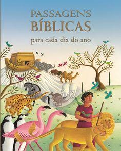Aqui estão as belas e sábias palavras da Bíblia em um volume ricamente ilustrado. -