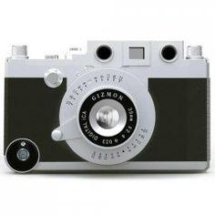 Gizmon coque appareil photo noir avec accessoires pour iPhone 4 / 4S