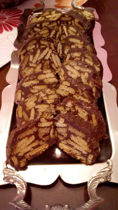 Greek Desserts, Greek Recipes, Chocolate Cake, Donuts, Biscuits, Sweet Tooth, French Toast, Bacon, Deserts