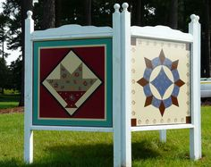 Another way to display barn quilts