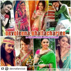 #Repost @devnafanclub (@get_repost) ・・・ So finally it's the day @devoleena completes 5 years potrayed the character #Gopi .. suc