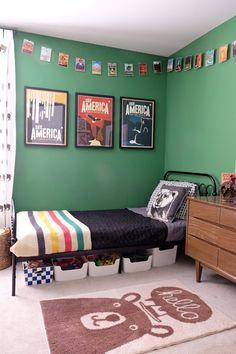 little boy room decor little boy room best little boys rooms ideas on little boy boy room decor toddler boy room decor ideas Green Boys Room, Green Rooms, Bedroom Green, Green Walls, Boys Room Colors, Wall Colors, Big Boy Bedrooms, Boys Bedroom Decor, Teen Bedroom