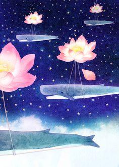 """soulist-aurora: """" Life is beautiful by Hajin Bae """""""
