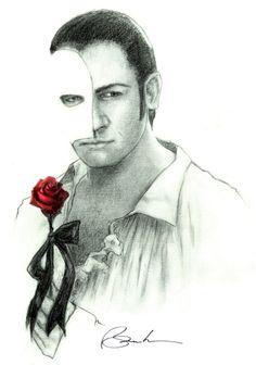 "The Phantom / ""Gerik"" | The Phantom of the Opera 2004 Film | In the likeness of Gerard Butler"