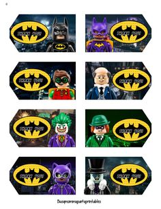 Lego Batman Movie Party Package por Busymommyprintables en Etsy