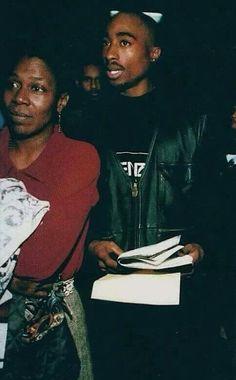 Afeni and Tupac Shakur