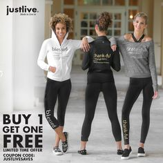 Looking for a late christmas gift for a special someone? Take advantage of our buy 1 get 1 free - Limited Time Offer from Just Live!!  Link: http://discounts.abenity.com/perks/offer/1:84071