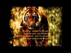 Eye of the Tiger song and lyrics My High School Football Teams fight song. Music Video Song, Music Film, Music Songs, Music Videos, Best Songs, Love Songs, Fnaf Song, Gym Music, Songs