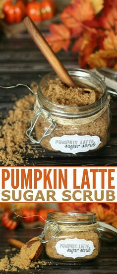 Pumpkin Latte Sugar Scrub Recipe is a great way to bring in your fall beauty routine + get a Free Printable Label!This Pumpkin Latte Sugar Scrub Recipe is a great way to bring in your fall beauty routine + get a Free Printable Label! Body Scrub Recipe, Diy Body Scrub, Sugar Scrub Recipe, Diy Scrub, Neutrogena, Sugar Scrub Homemade, Homemade Soaps, Homemade Beauty Products, Natural Products