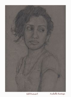 """Self Portrait"" by Anabelle Santiago, a student at the Fred Dolan Art Academy in the Bronx, will be offered at ""Catch the Rising Stars"" the Academy's 2nd annual art auction, featuring works by the Academy's acclaimed teachers and students.  Tuesday, May 19th, 5:30-7:30PM, 750 Lexington Ave, NYC.  To reserve a place, log onto www.freddolanartacademy.com and click on ""Catch the Rising Stars"""