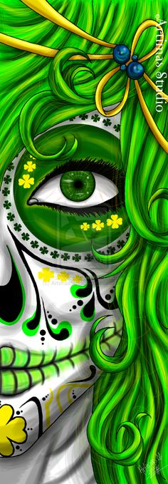 Green Death by ArtimasStudio.deviantart.com on @deviantART