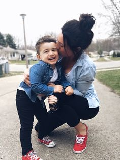 Mom and son matching outfits. Toddler boy fashion