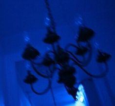 chandelier tumblr aesthetic aesthetics cyber ghetto ghetto dark grunge grunge black grunge blue dark blue blue theme blue aesthetic blue skies black and ...