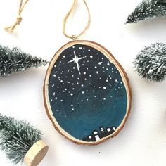 Hey, I found this really awesome Etsy listing at https://www.etsy.com/listing/492737027/jesus-ornament-o-glorious-night-wood