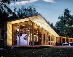 Evening Exterior Design by Emotion School an interior design / industrial design mashup. #industrialdesign #interiordesign #home