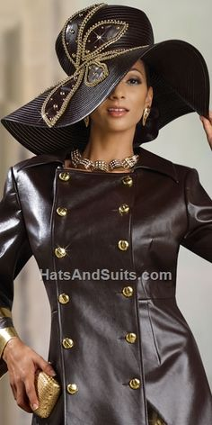 Donna Vinci Couture Church Hat H2066