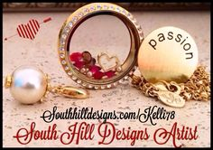 Say Happy Valentines Day with a South Hill Designs locket!!! Visit my website at Southhilldesigns.com/Kelli78 and LIKE my South Hill Designs Facebook fan page at www.facebook.com/southhilldesignskellihunt to learn more!