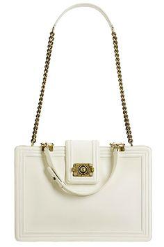 Amazing White Chanel Bag