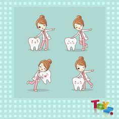 Dental World, Dental Life, Dental Art, Dental Health, Humor Dental, Dental Hygienist, Dentist Clipart, Doctor Drawing, Dentist Logo