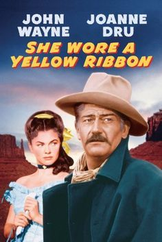 """She Wore a Yellow Ribbon"" (1949)."