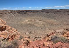 """""""But I have found that in the simple act of living with hope and in the daily effort to have a positive impact in the world the days I do have are made all the more meaningful and precious. And for that I am grateful."""" - Elizabeth Edwards  _  Meteor Crater in Arizona is the best preserved impact crater on earth.  _  At 170 meters (560 ft) deep and 1.186 kilometers (0.737 mi) in diameter this photo doesn't do it justice - this thing is massive!  _  50000 years ago an nickel-iron meteor…"""