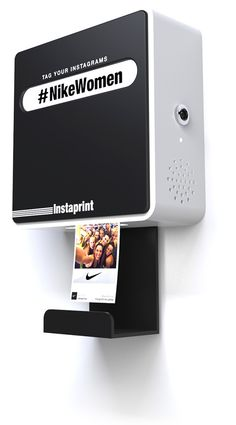 Rent our hashtag-driven instagram photobooth printer