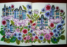 Houses done! #dagdrömmar #hannakarlzon #relax #coloring