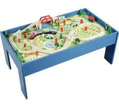Buy Chad Valley Wooden Table and 90 Piece Train Set at Argos.