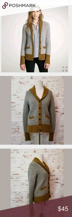 J. Crew Small Dream Tipped Chale Cardigan J. Crew Dream Tipped Chale Cardigan Wool Cashmere Sweater Size Small Laid Flat Bust 19 Across Length 23 J. Crew Sweaters Cardigans