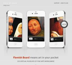 Flemish Board-HTML5 Product Page Mobile Version