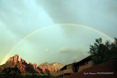Sedona AZ perfect rainbow