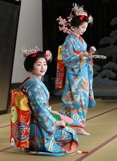 #Japan #maiko Satsuki san fumino san