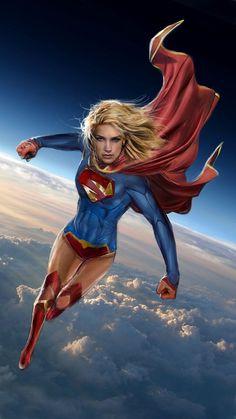 #Supergirl #Fan #Art. (Supergirl) By: John Gallagher. (THE * 5 * STÅR * ÅWARD * OF: * AW YEAH, IT'S MAJOR ÅWESOMENESS!!!™)[THANK U 4 PINNING!!!<·><]<©>ÅÅÅ+(OB4E)