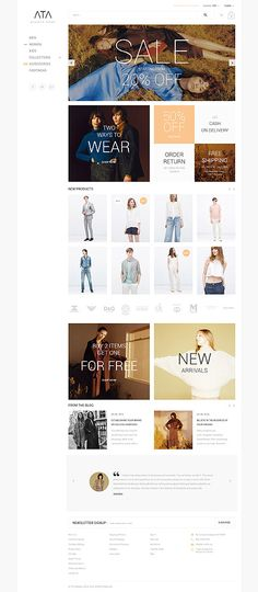 Stylish Clothing Online Store #Magento #template. #themes #business #responsive…