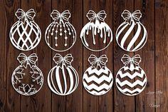 Baumblatt leaf tree Laser Paper Cut Vinyl File Design to Christmas Drawing, Christmas Paper, Christmas Balls, Christmas Crafts, Xmas, Christmas Ornaments, Vector Christmas, Quilling Christmas, Christmas Vinyl
